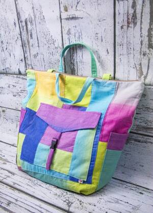 Rainbow Mommy Bag